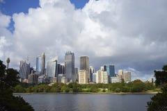 地平线悉尼 免版税图库摄影