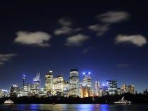 地平线悉尼 免版税库存照片