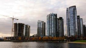 地平线温哥华 免版税图库摄影