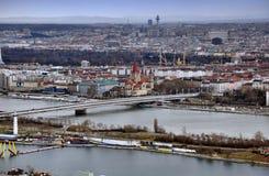 地平线维也纳 免版税库存图片