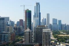 地平线芝加哥 库存照片