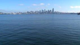 地平线西雅图,美国 股票录像