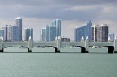 地平线迈阿密 免版税库存图片