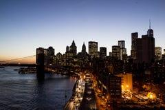 地平线,纽约 库存照片