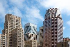 地平线-旧金山财政区 图库摄影