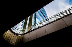 地平线citylife 图库摄影