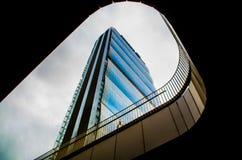 地平线citylife 免版税库存图片