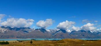 地形云,普卡基湖, NZ 免版税库存照片