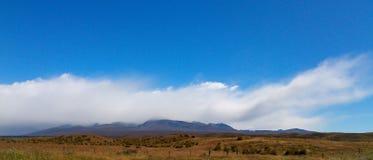 地形云, Mt厨师, NZ 库存照片