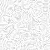 地形学等高线传染媒介地图无缝的样式 向量例证