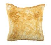 轻地敬酒的面包切片 库存图片