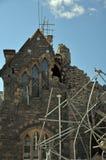 地方上坎特伯雷克赖斯特切奇的地震 免版税图库摄影