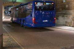 地方公共交通工具在历史市oc的南德国 库存图片
