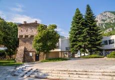 地方历史博物馆在弗拉察,保加利亚 库存照片