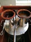 地方咖啡和茶泰国 免版税库存图片
