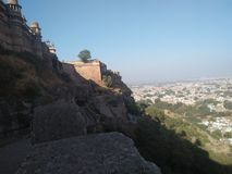 地方堡垒瓜廖尔历史MP堡垒 库存照片