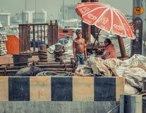 地方渔/小船工作者泰国 免版税库存照片