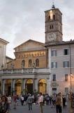地方生活在Trastevere 库存照片