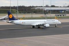 地方的汉莎航空公司 库存图片