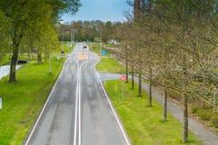 地方路在弗莱福兰省 免版税图库摄影