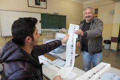地方选举在土耳其。 图库摄影