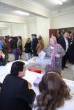 地方选举在土耳其。 库存图片