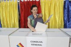 地方选举 免版税库存图片