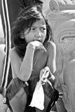 高棉女孩 免版税库存照片
