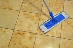 地板清洁旧布 库存图片