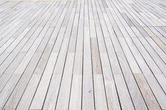地板的木棕色板条盘区 免版税库存图片