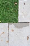 地板纹理与草绿色的 免版税库存图片