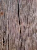 地板背景的老木桥梁 库存图片
