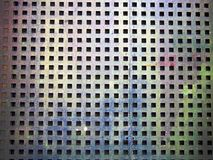 地板背景的铁纹理 库存图片