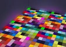地板颜色 免版税库存图片