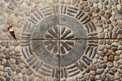 地板,蓝色湖东南苏拉威西岛 库存照片