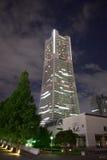 地标塔在横滨,日本 免版税库存图片