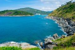 地标夏天海滩普吉岛泰国 免版税库存图片