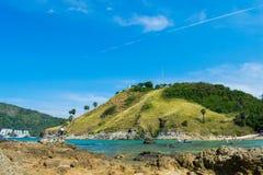 地标夏天海滩普吉岛泰国 库存图片