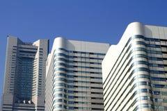 2011年地标春天被采取的塔横滨 库存照片