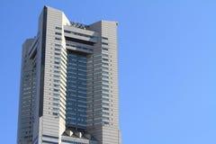 2011年地标春天被采取的塔横滨 图库摄影