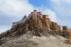 地标西藏 库存照片