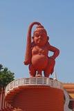 地标雕象在Ramoji影片城市 图库摄影