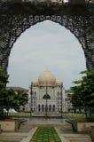 地标马来西亚putrajaya 库存照片