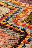 地毯上色了 免版税库存照片