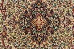 地毯东方人纹理 免版税库存照片