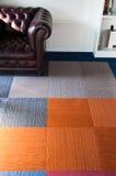 地毯充分颜色楼层 免版税库存图片