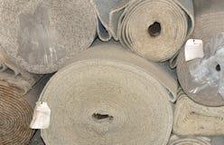 地毯卷 图库摄影