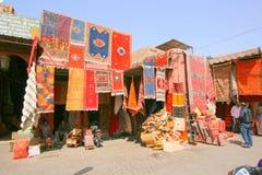 地毯和地毯商店 库存图片