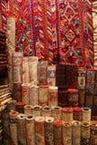地毯在伊斯坦布尔 免版税图库摄影