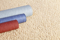 地毯复制样本空间墙纸 库存照片